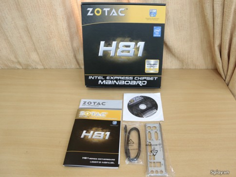 Cam nhan voi mainboard ZOTAC H81 ho tro Intel Haswell