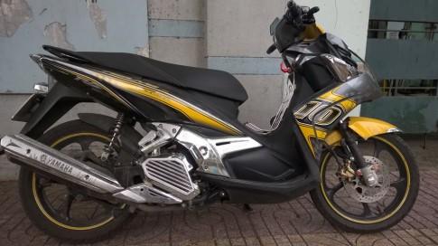 Can ban Yamaha Nouvo SX vang xam 2013 bstp