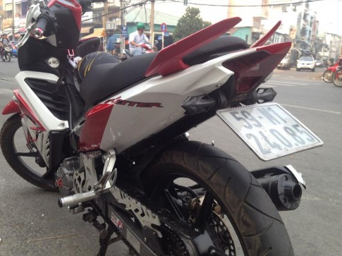 Can canh Exciter 135 che mu dan duoi Exciter 150 ham ho