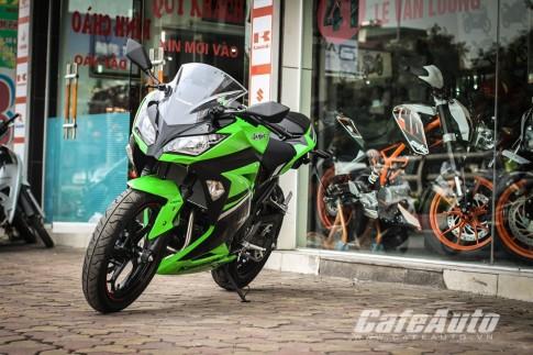 Can canh Kawasaki Ninja 300 Special Edition phien ban dac biet tai Ha Noi