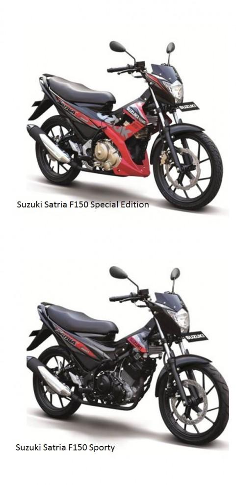 Can canh Suzuki Satria F150 phien ban 2015