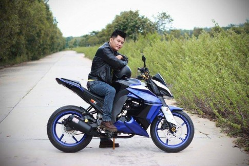 Can canh Yamaha FZ16 voi y tuong do z1000 ham ho