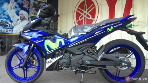 Cận cảnh Yamaha Jupiter Mx 150 Movistar tại Indonesia