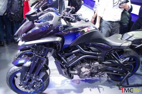 Cận cảnh Yamaha MWT-09 tại Tokyo Motor Show