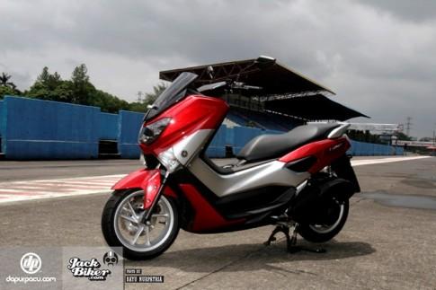 Cận cảnh Yamaha NMax 150 giá 46 triệu đồng