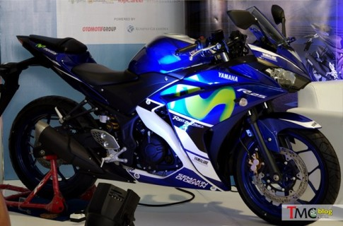 Can canh Yamaha R25 2015 Phien ban Movistar