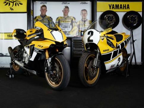 Cận cảnh Yamaha YZF-R1 phiên bản màu vàng đen tuyệt đẹp