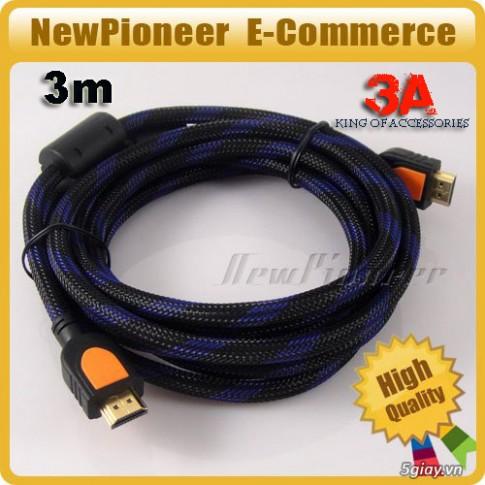 Cáp HDMI - công nghệ HD trong tầm tay