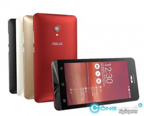 [CES 2014] Asus gioi thieu ZenFone 4, 5, 6