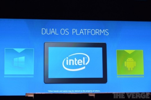 [CES 2014] Intel xac nhan thiet bi Dual OS chay song song Windows va Android