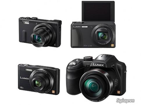 [CES 2014] Panasonic ra mat 4 may anh Lumix, zoom tu 12X - 42X