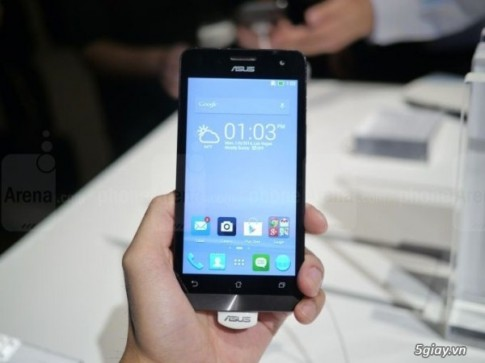 [CES 2014] Ra mat Zenfone 5 - smartphone ngon re tu Asus.