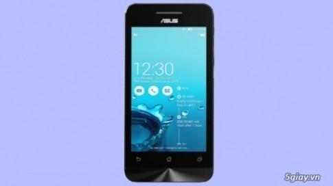 [CES 2014] Zenfone 4 tu Asus - smartphone re nhat trong bo 3 Zenfone!