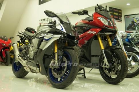 Chi tiet chiec Yamaha R1M 2015 thu 2 tai Viet Nam