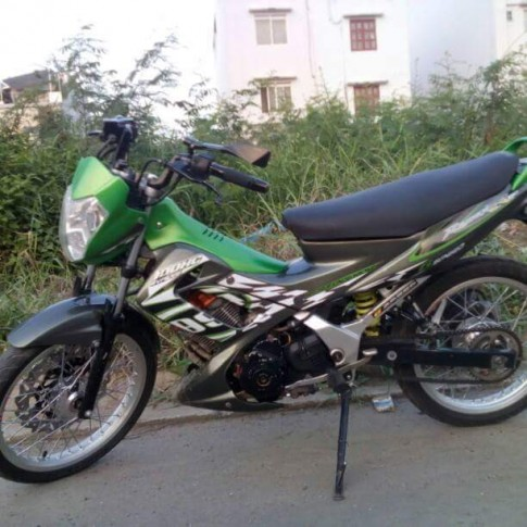 Chiếc Suzuki FXR150 độ full raider thái .