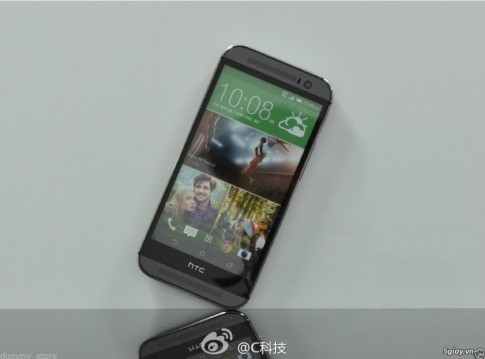 Chiec The All New One cua HTC lo hinh chinh thuc