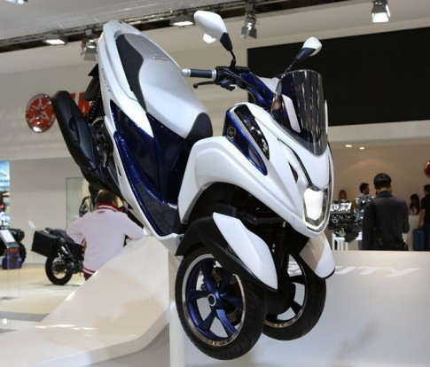 Chiem nguong loat xe Yamaha tai trien lam EICMA 2013