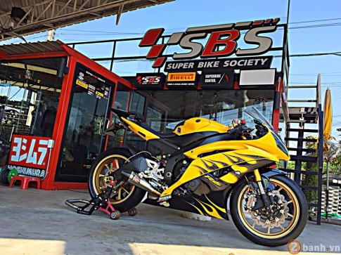 Chien ma Yamaha R6 do dep khong tuong tai Thai