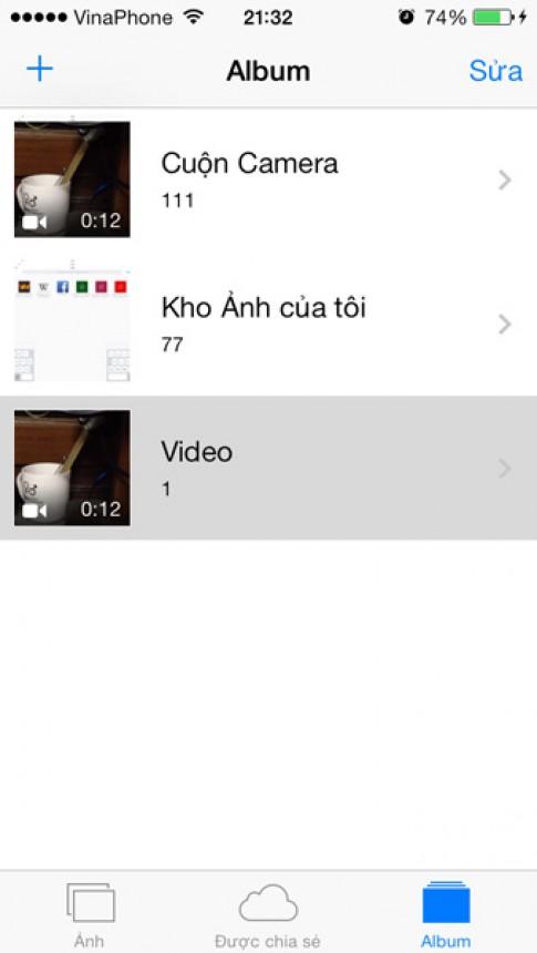 Chinh sua video ngay tren iPhone/iPad