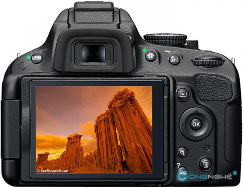 Chinh tay tren che do Liveview cua Nikon D5100 bang Firmware hack