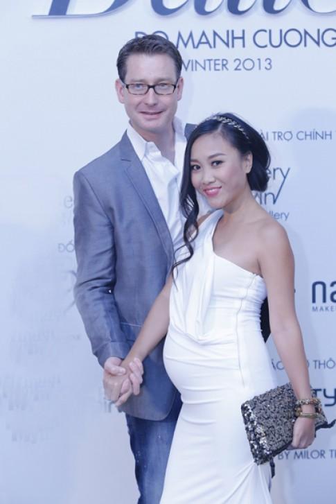 Chong an can dat tay Doan Trang di xem thoi trang