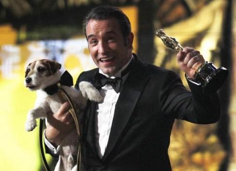 Chu cho Uggie trong phim doat giai Oscar 'The Artist' qua doi