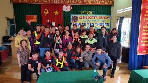 """Chương trình thiện nguyện """"Chia sẻ yêu thương"""" của CLB Exciter Sài Gòn"""