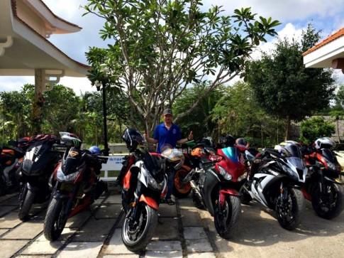 CLB Exciter - Team 71 Bến Tre cùng tour từ thiện