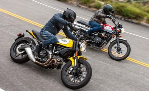 [Clip] So sánh Ducati Scrambler và Triumph Scrambler
