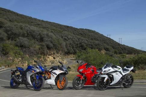 [Clip] So sanh Yamaha R3, Honda CBR300R, KTM RC390 va Kawasaki Ninja 300