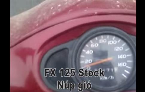 [Clip] Suzuki FX 125 test lực 0-100km/h