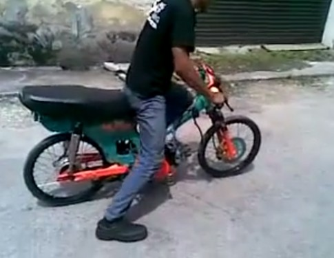 [Clip] Test honda dream chạy drag