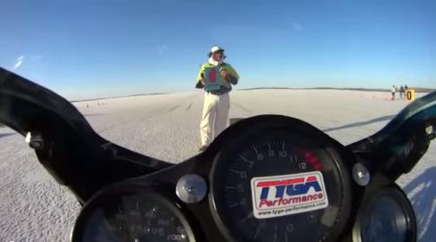[Clip] Test Honda NSR 150 toc do ngoai 230 km/h