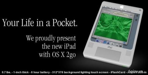 Concept iPad nam 2004 va iPad hien tai