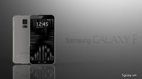Concept Samsung Galaxy F hua hen vuot mat Galaxy S5
