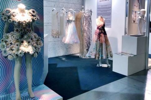 Cong Tri gioi thieu gian hang Haute Couture tai Italy