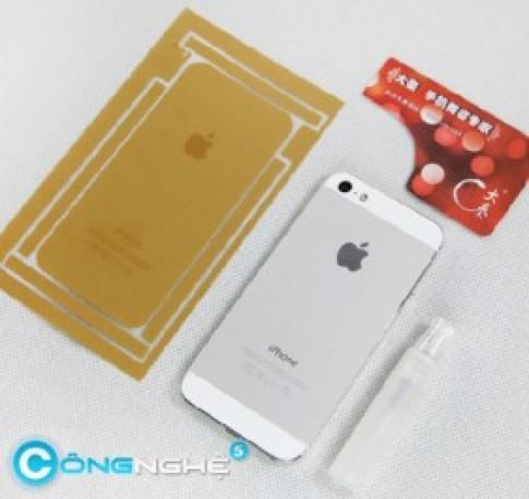 """""""Cuồng"""" iPhone 5s lên đến đỉnh điểm, Trung Quốc chuyển qua chơi stickers"""