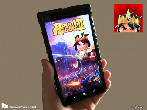 Da co the tai game Royal Revolt 2, danh cho Windows Phone 8 (mien phi)