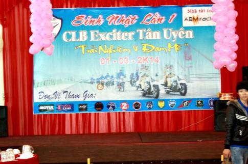 Dai hoi Exciter - Mung sinh nhat 1 tuoi CLB Exciter Tan Uyen (P1)