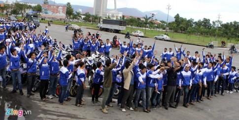 Đại hội Exciter tụ họp gần 1000 chiếc Exciter tại Đà Nẵng