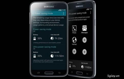 Đánh giá tính năng Ultra Power Saving Mode của Galaxy S5