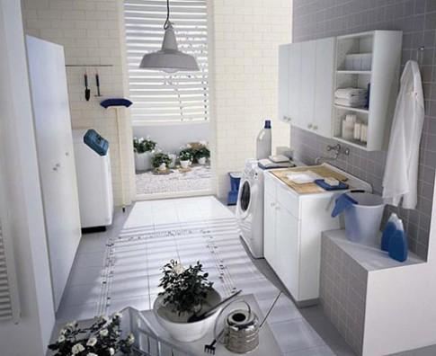 Đặt nơi giặt là vào nhiều không gian trong nhà