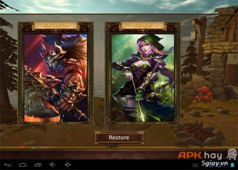 Demonrock: War of Ages Mod - Bảo vệ vương quốc