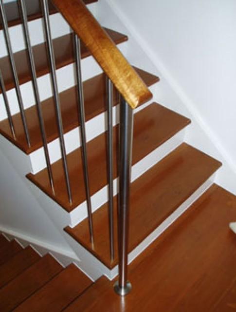 Đẹp với cầu thang gỗ