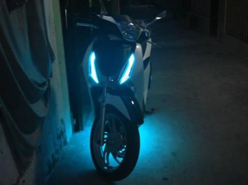 Độ đèn gầm cho Honda SH