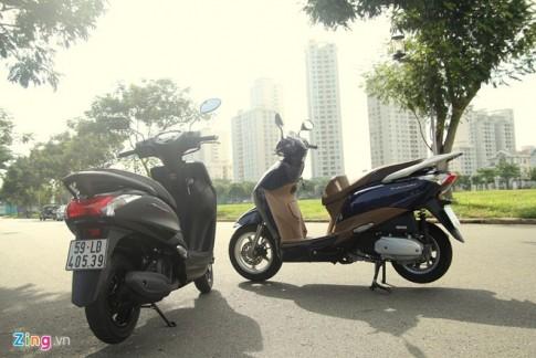 Độ hao nhiên liệu của Yamaha Acruzo và Honda Lead là bao nhiêu?