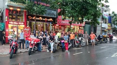 Doan moto Harley-Davidson di phuot xuyen Viet