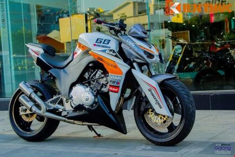 Độc đáo với Kawasaki Z1000 được độ từ Honda Hornet 250 tại Sài Gòn