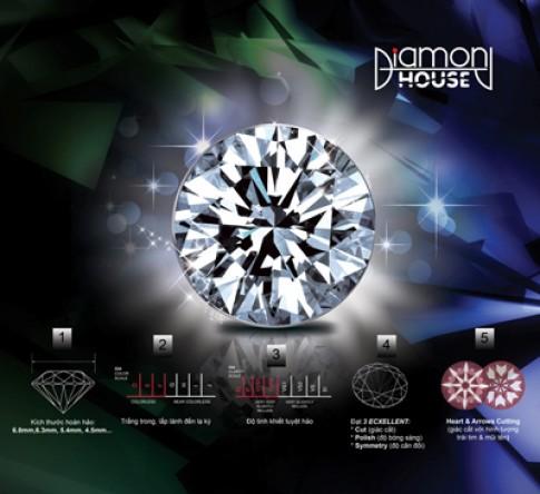 DOJI giới thiệu kim cương 'Kim sinh tài lộc'