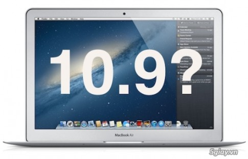 Download bo cai dat Mac OS X 10.9 va burn ra USB la cai dat xong